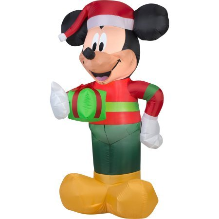 5 foot tall mickey mouse inflatable yard decoration